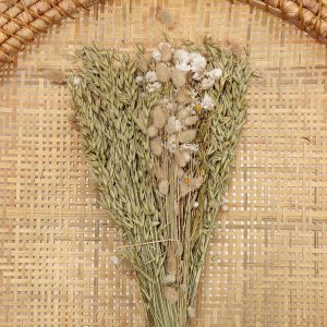 Dried Flower Bouquet White