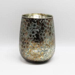 Bronze glass hurricane
