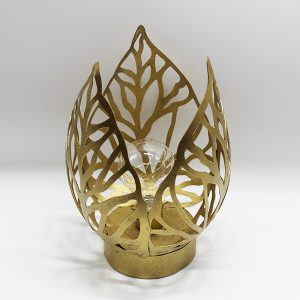 Gold leaf lamp