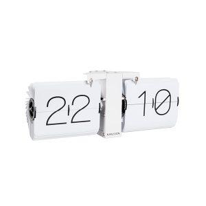 Karlsson White Flip Clock
