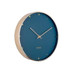 Gold and blue clock