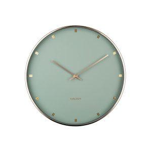 Karlsson Petite Wall Clock Jade Green