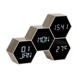 Karlsson Hexagonal Alarm Clock