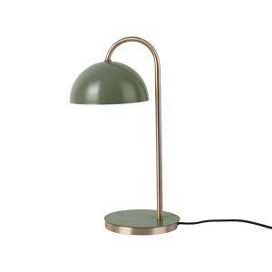 Jungle Green Dome Table Lamp