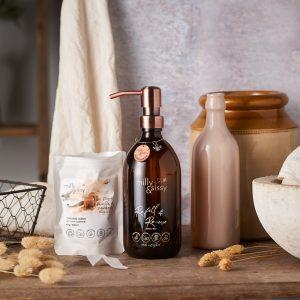 Vanilla & caramel shower creme gift pack