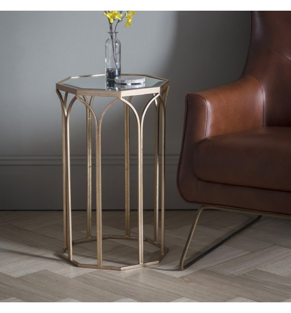 Arch Mirror Side Table