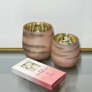 Pink Tealight Set