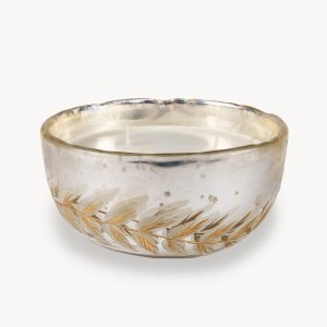 Etched Leaf Multiwick Candle