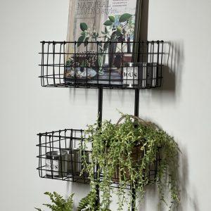 Hanging Iron Baskets