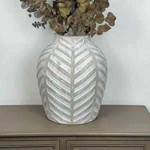 Venice Large Stone Vase