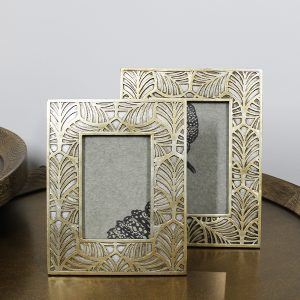 Gold Leaf Print Frame