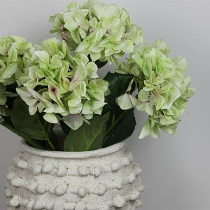 Shabby Green Hydrangea Bouquet