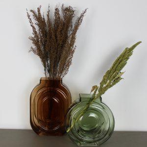 Kiko Glass Vase Green