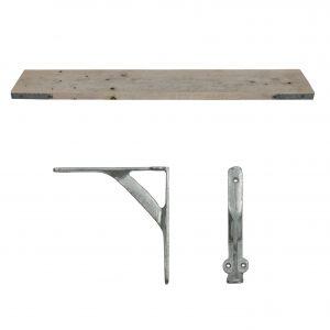Raw Scaffold Shelf