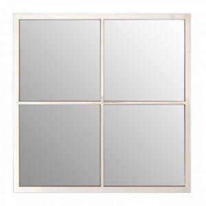 Silver Square Wall Mirror