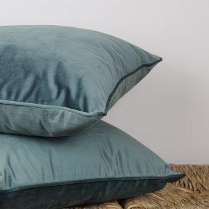 Luxe Cobalt Blue Cushion