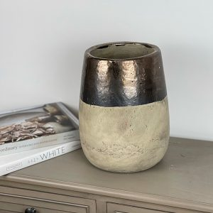 Maxwell Metallic Large Vase