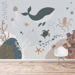 Under The Sea Wallpaper Mural